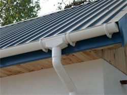 Gutter Systems PVC and galvanized steel