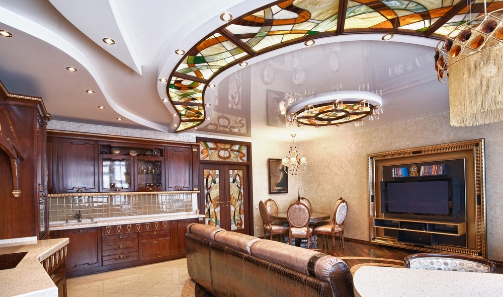 Fabric ceilings: pros and cons