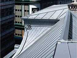 Zinc-titanium as a roofing material