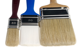 Paint tools. How to choose the right paint brush and roller?