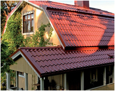 How to cover the roof metal tile, Decking, Ondulin, Slate