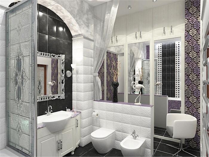 Ванная в стиле ар-деко: особенности дизайна